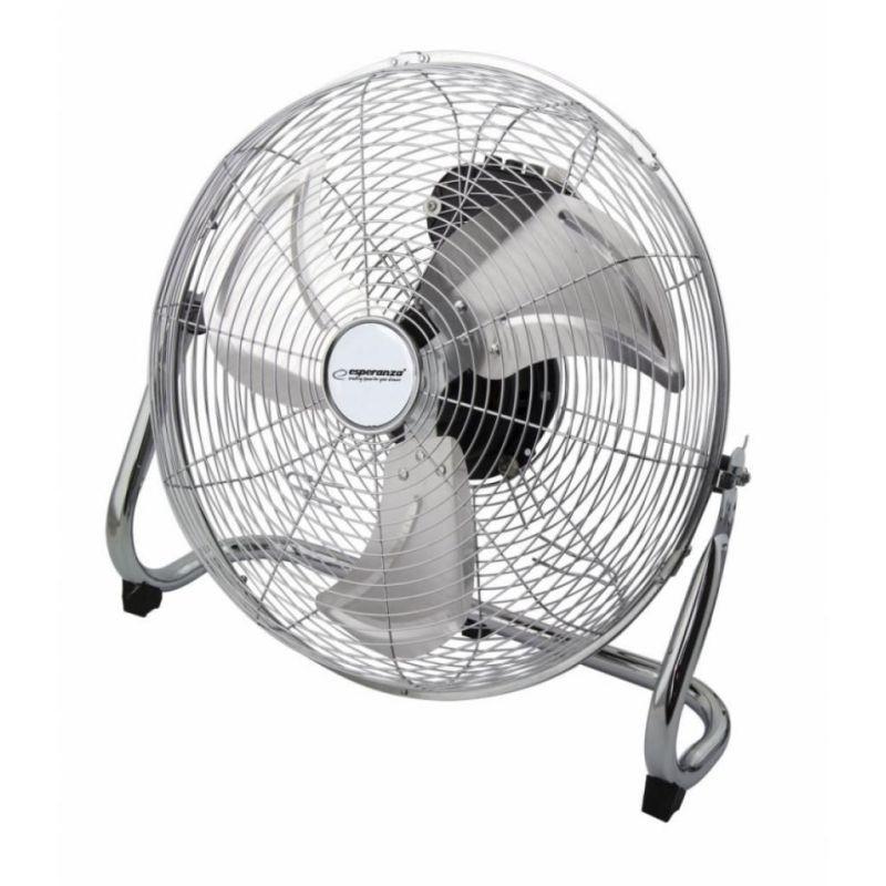 Ventilator metalic de podea 110W, oscilatie verticala 270 grade, 3 viteze