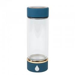 Generator apa hidrogenizata, 420 ml, sticla borosilicata, portabil, 29X6.7 cm