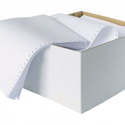 Hartie pentru imprimanta matriciala, format A4, 1800 coli