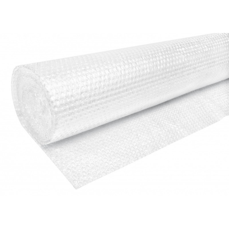 Folie bule de aer, 1x100 m, grosime 45 g/mp, material impermeabil, transparenta