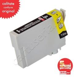 Cartus compatibil pentru Epson T0711 C13T07114011 Black ActiveJet