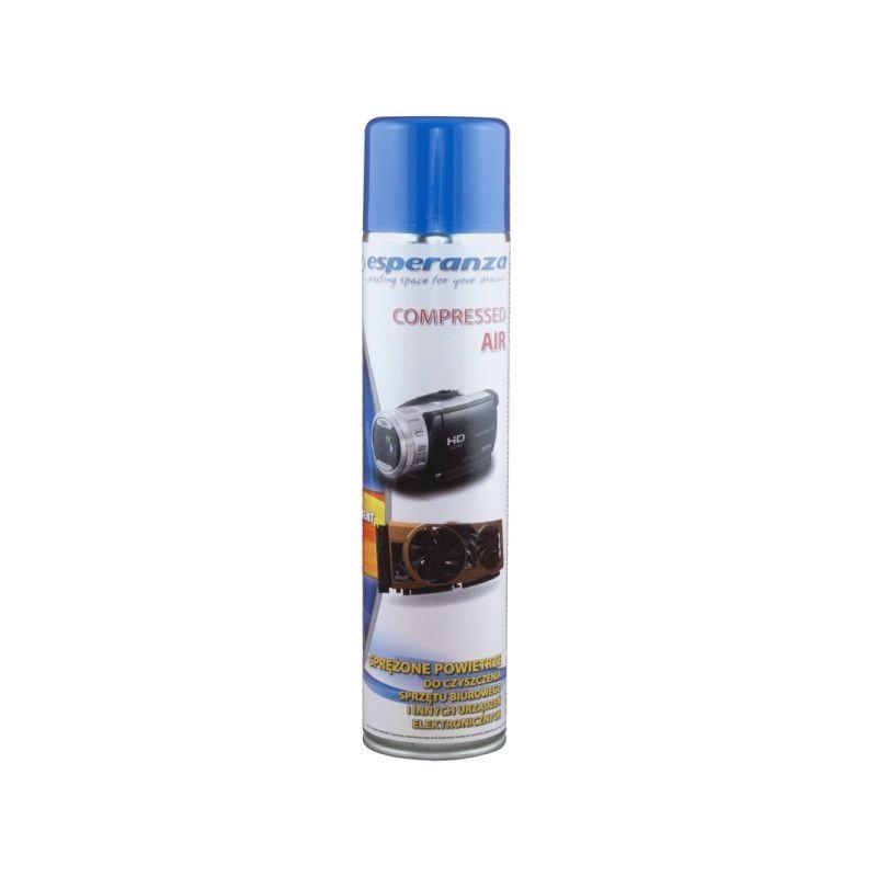 Spray aer comprimat pentru curatare dispozitive, 600 ml, Esperanza