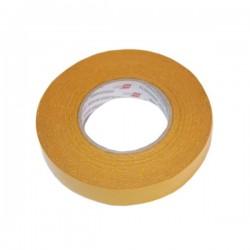 Banda dublu adeziva cu insertie textila, adeziv permanent dispersie acrilica
