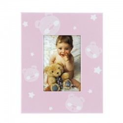Rama foto Baby Teddy Bear, design ursulet si stelute, 6X8 cm