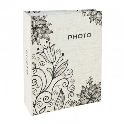 Album fotografii Simple Lily 10x15, capacitate 300 poze, 75 file, model floral
