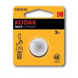 Baterie CR2032, tensiune 3V, Kodak Ultra