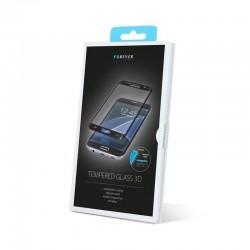 Folie protectie ecran iPhone 6/6S, sticla securizata 3D, negru, Forever