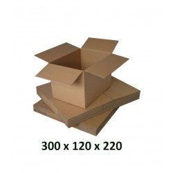 Cutie carton 300x120x220,, natur, 5 straturi CO5, 690 g/mp
