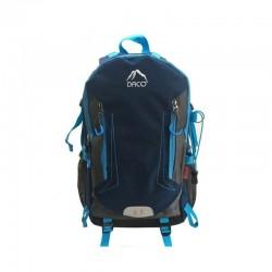 Ghiozdan Bleu, clasele 9-12, 4 buzunare, bretele captusite, albastru, Daco