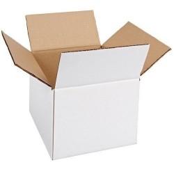Cutie carton 120x120x145, alb, 3 straturi CO3, 360 g/mp