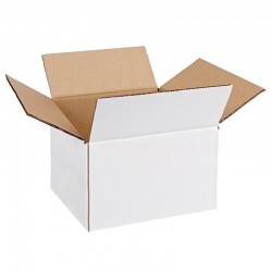 Cutie carton 240x120x170, alb, 3 straturi CO3, 360 g/mp