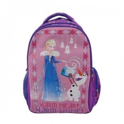 Ghiozdan Elsa si Olaf, clasele primare, fete, material impermeabil, Pigna