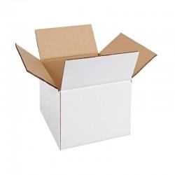 Cutie carton 360x150x190, alb, 3 straturi CO3, 360 g/mp