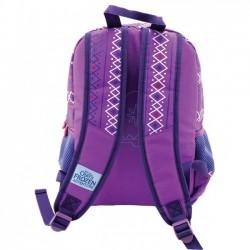 Ghiozdan Olaf, clasa 0, pentru fete, inaltime 38 cm, violet, Pigna