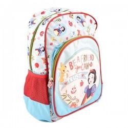Ghiozdan pentru clasele I-IV, Snow White, fete, material impermeabil, Pigna
