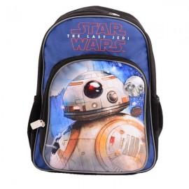 Ghiozdan Star Wars BB-8, pentru baieti, clasa 0, bretele ajustabile, Pigna