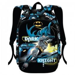 Ghiozdan Batman, 3D, clasele I-IV, pentru baieti, ergonomic, inaltime 40 cm