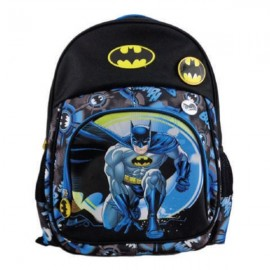 Ghiozdan Superhero Batman, clasa 0, pentru baieti, impermeabil, Pigna