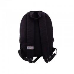Ghiozdan Black Etno, fete gimnaziu, bareta ajustabila, 42 cm, Pigna