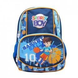 Ghiozdan Basket Boy, baieti, ciclul primar, 4 buzunare, ergonomic, Pigna