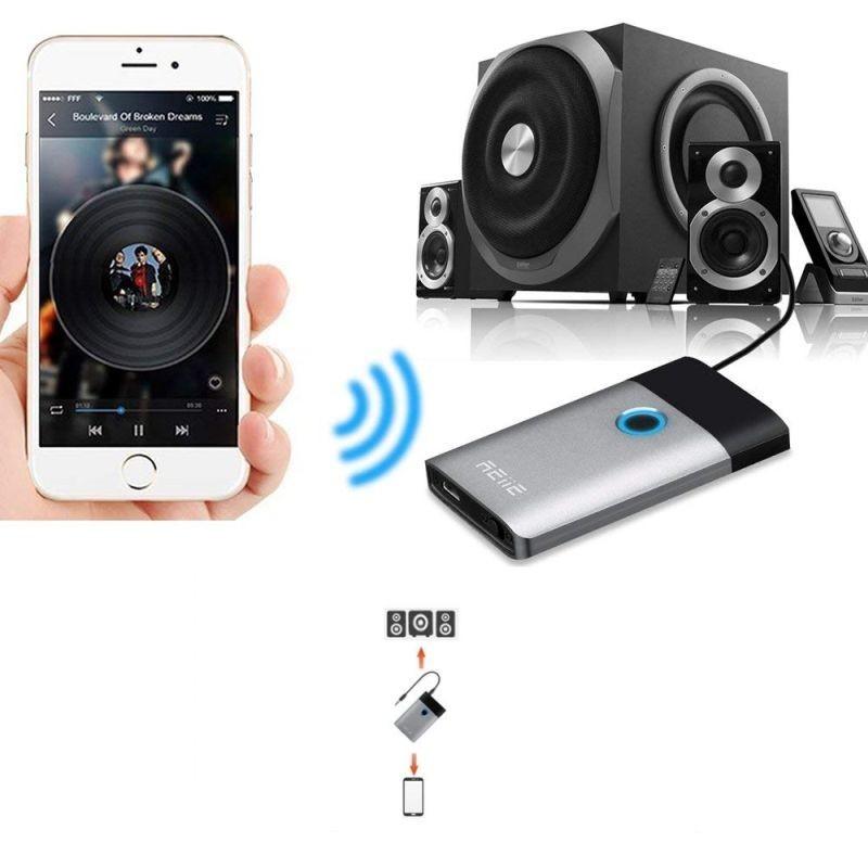 Transmitator si receptor Bluetooth 4.1, raza actiune 10 m, Jack 3.5 mm
