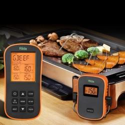 Termometru digital cu sonda, Wireless, LCD iluminat, cronometru, 9 butoane, Rii