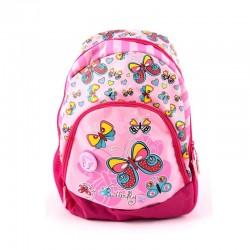 Ghiozdan Teens Pink, clasele primare, 1 compartiment, separator interior