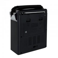 Radio portabil FM/AM/SW, MP3 player, slot USB SD, design retro, Waxiba