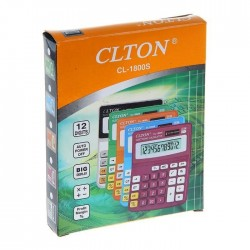 Calculator de birou, 12 digits, alimentare duala, display LCD, ABS