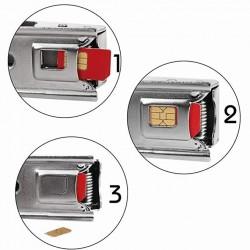 Cutter taiat cartela SIM, conversie SIM standard si microSIM in nanoSIM
