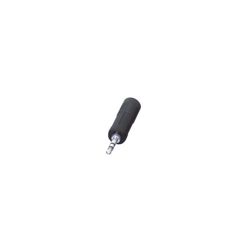 Adaptor audio stereo Jack tata 3.5 mm, mama 6.3 mm
