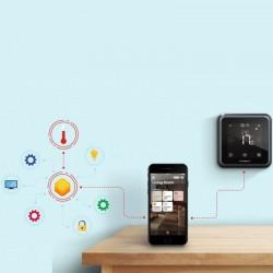 Termostat Wireless control smartphone, programare 7 zile, ecran tactil