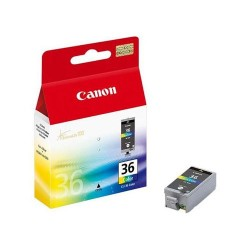 Cartus inkjet original Canon CLI-36, Tricolor, 12 ml
