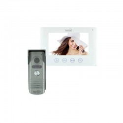 Video-interfon Smart, compatibil Android/iOS, LCD 7 inch, LED-uri infrarosu
