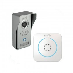 Video-interfon Smart cu sonerie fara fir, Android/iOS, LED-uri infrarosu