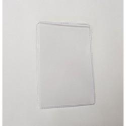 Coperta transparenta pentru permis auto, dimensiune 89X58 mm
