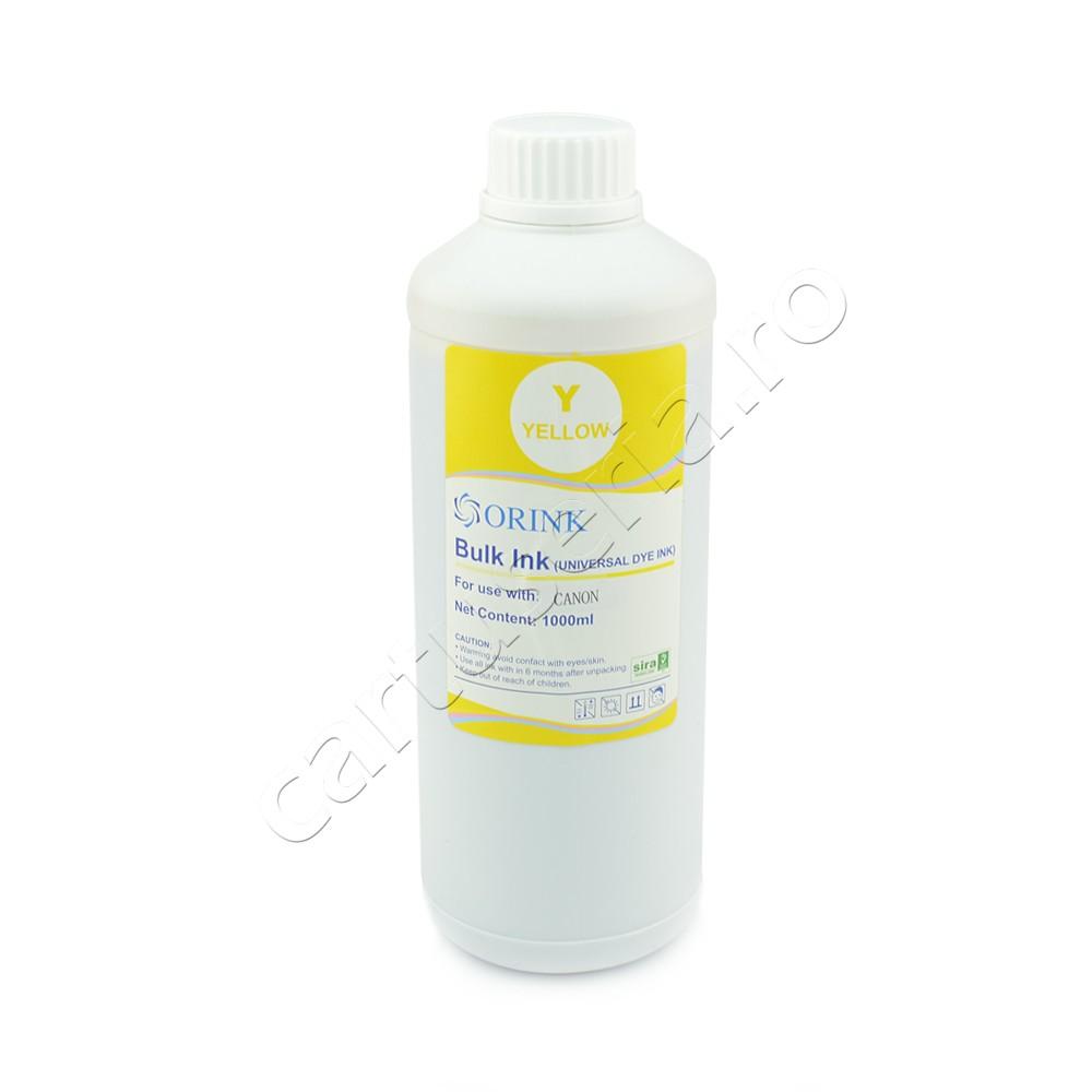 Cerneala Dye Ink Canon Universala 1 Litru Culoare: Yellow