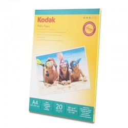 Pachet 5 topuri hartie foto High Glossy, 180 g Kodak A4, 100 coli