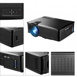 Video proiector LED, TFT LCD, USB, HDMI, VGA, Rio