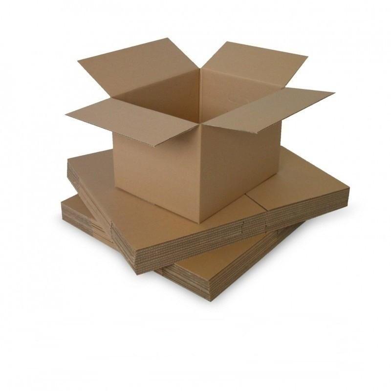 Cutie carton 150x100x150, natur, 3 straturi CO3, 435 g/mp