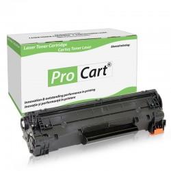 Cartus toner compatibil TN-2220 Brother, Black, 2600 pagini, Procart