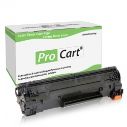 Toner compatibil TN-2010 Brother, 2600 pagini, Black, Procart