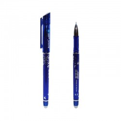 Pix cu cerneala termosensibila, mina 0.5 mm, radiera, albastru