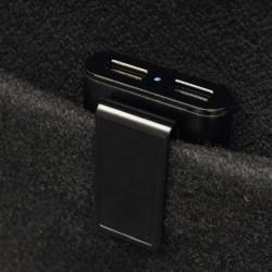 Incarcator auto cu incarcare extra rapida, 4 porturi USB 2.4 A, 12-24V