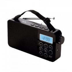 Radio digital AM/FM/SW, ceas LCD, functie alarma, temporizare adormire