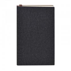 Agenda A6 nedatata, pentru notite, semn de carte inclus, coperta PVC