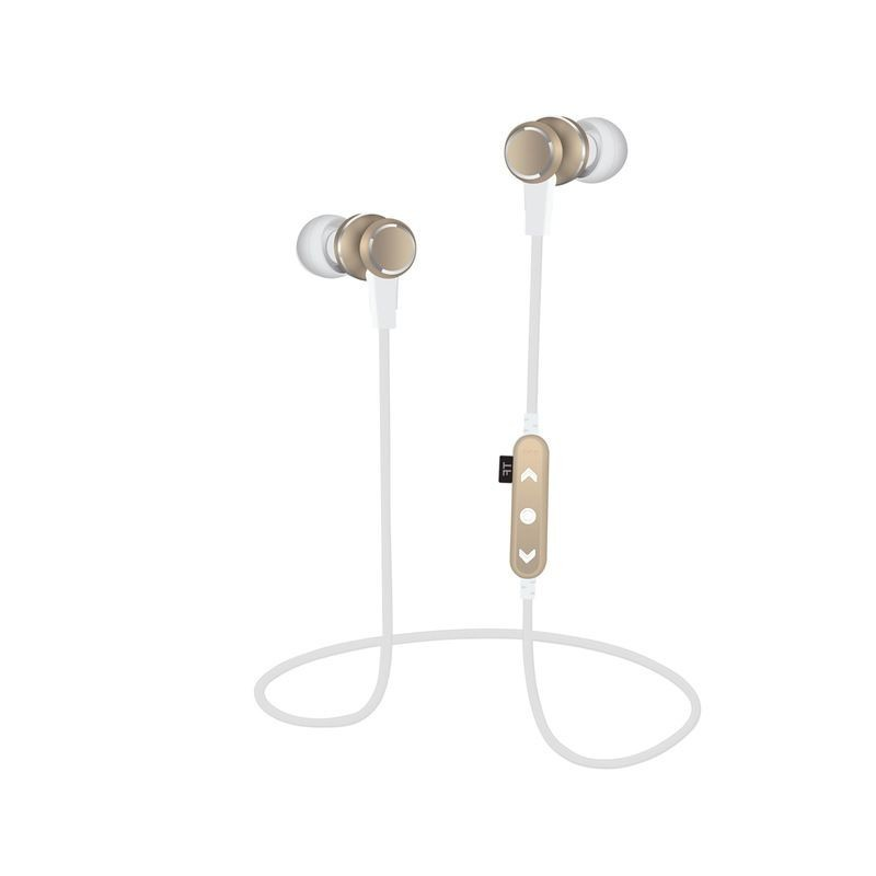 Casti audio Bluetooth sport In-ear, slot TF,  suport magnetic telefon