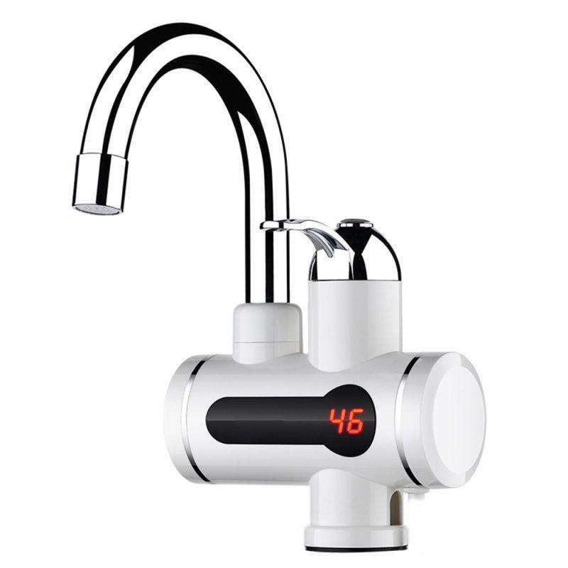 Robinet electric, apa calda instant, 3000 W, 2.5 l/minut, montare pe chiuveta