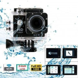 Camera video sport Full HD, Wi-Fi, LCD 2 inch, slot microSD, USB, 16 accesorii, Rio