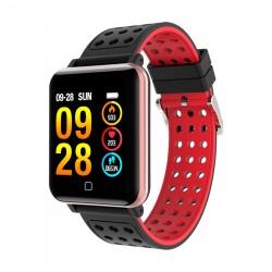 Smartwatch bluetooth, 1.3 inch, procesor Nordic nRF52832, incarcare magnetica